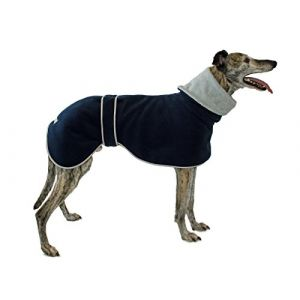 Cosipet Greyhound Polo Hundemantel in Blau