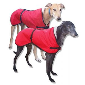 Kellings Dog Coats Windhundmantel in Rot